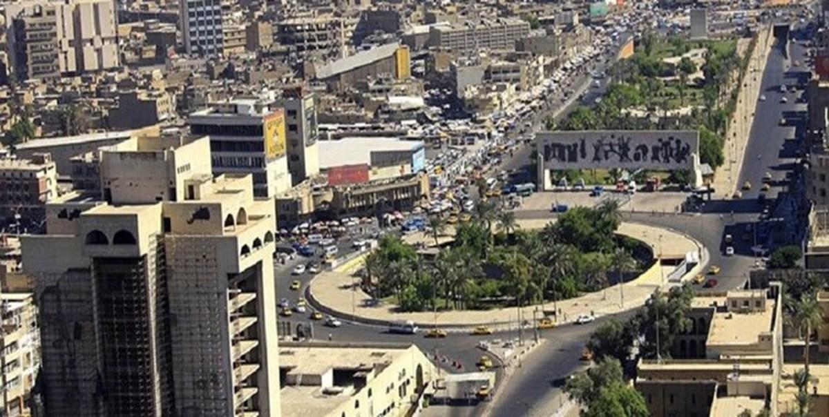 پایتخت عراق  |  صدای انفجار در شهر بغداد شنیده شد