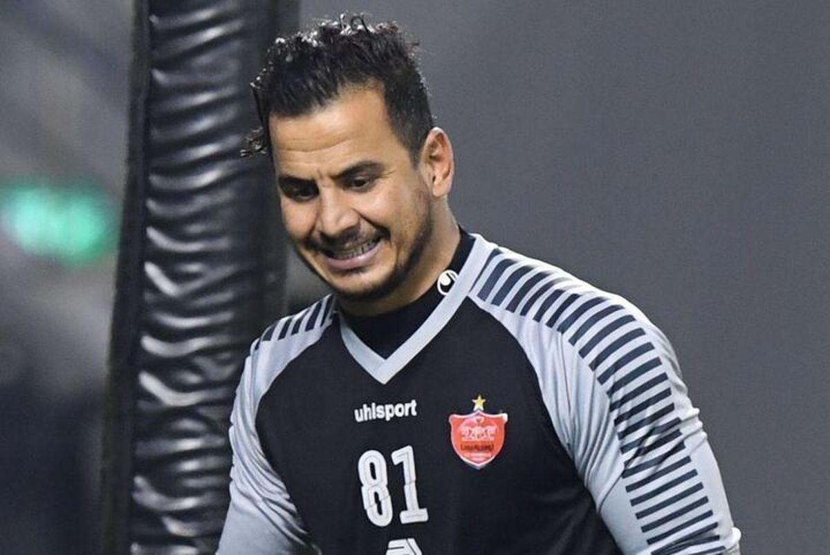 لیگ قهرمانان آسیا     دروازهبان پرسپولیس مورد تحسین قرار گرفت .