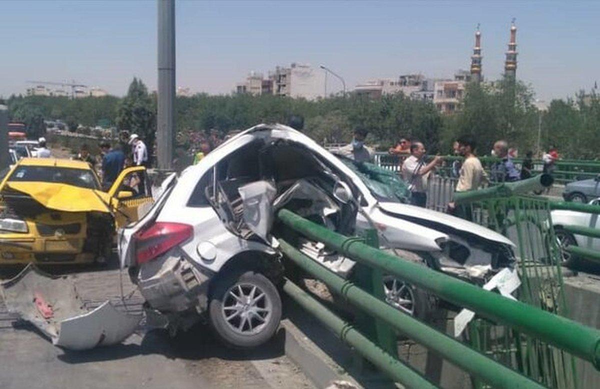 تصادفات دومین عامل مرگ و میر در کشور