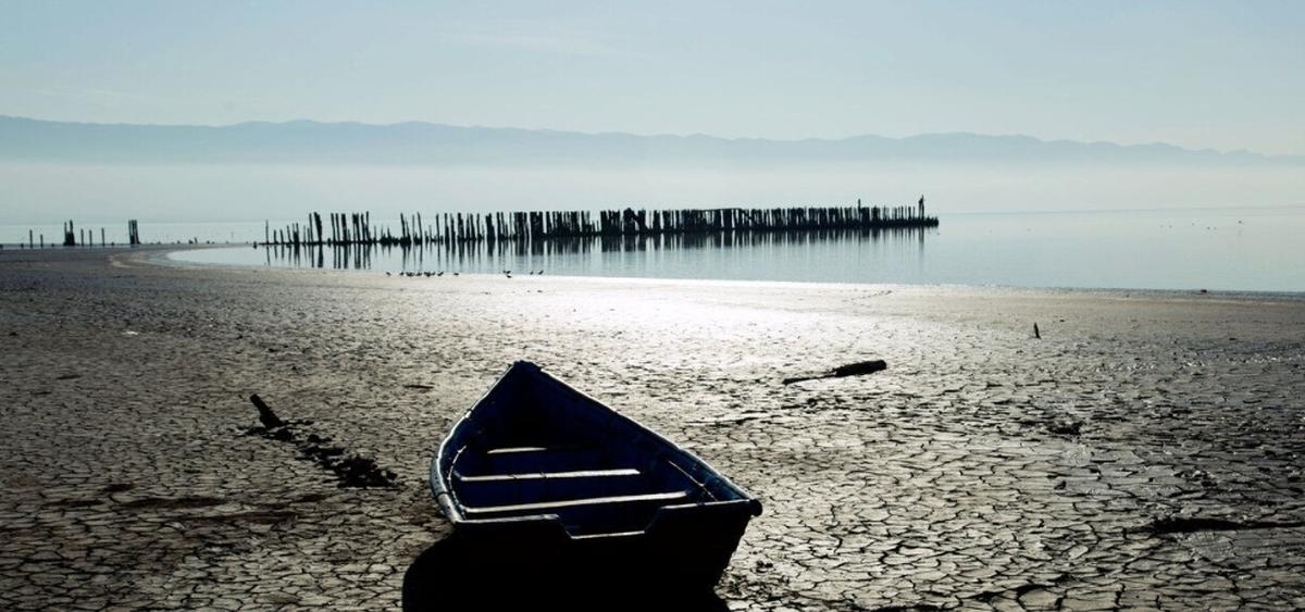 هشدار  |  خلیج گرگان در حال خشکی و تبدیل به تالابی مرطوب است