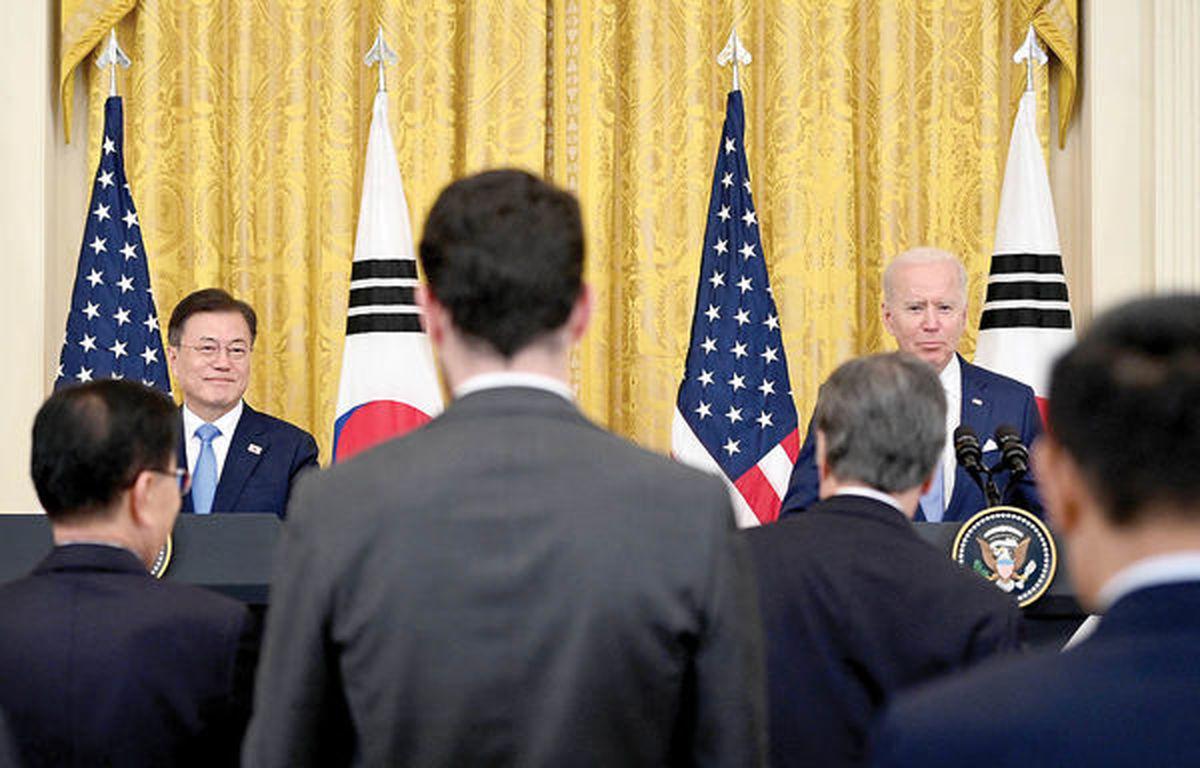 ائتلاف علیه «اون»   بایدن میزبان رئیسجمهور کرهجنوبی شد
