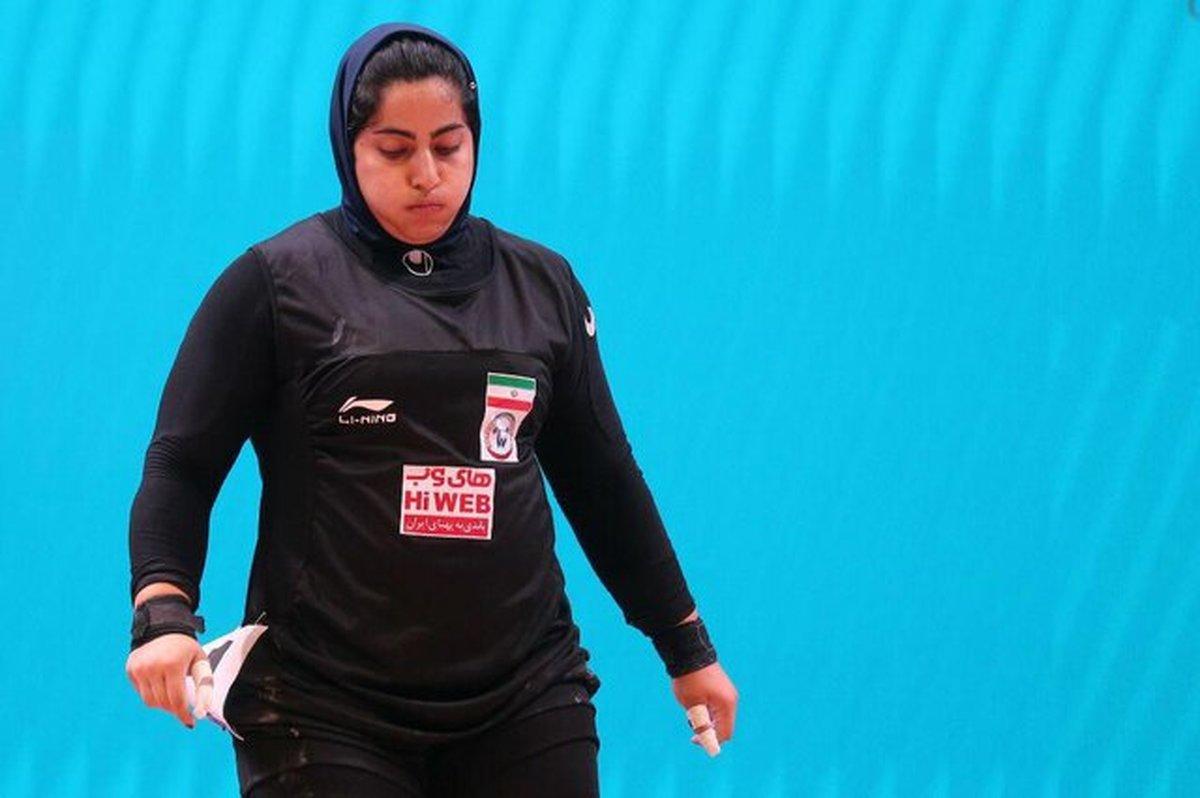 دختر وزنهبردار ایران المپیک را از دست میدهد؟