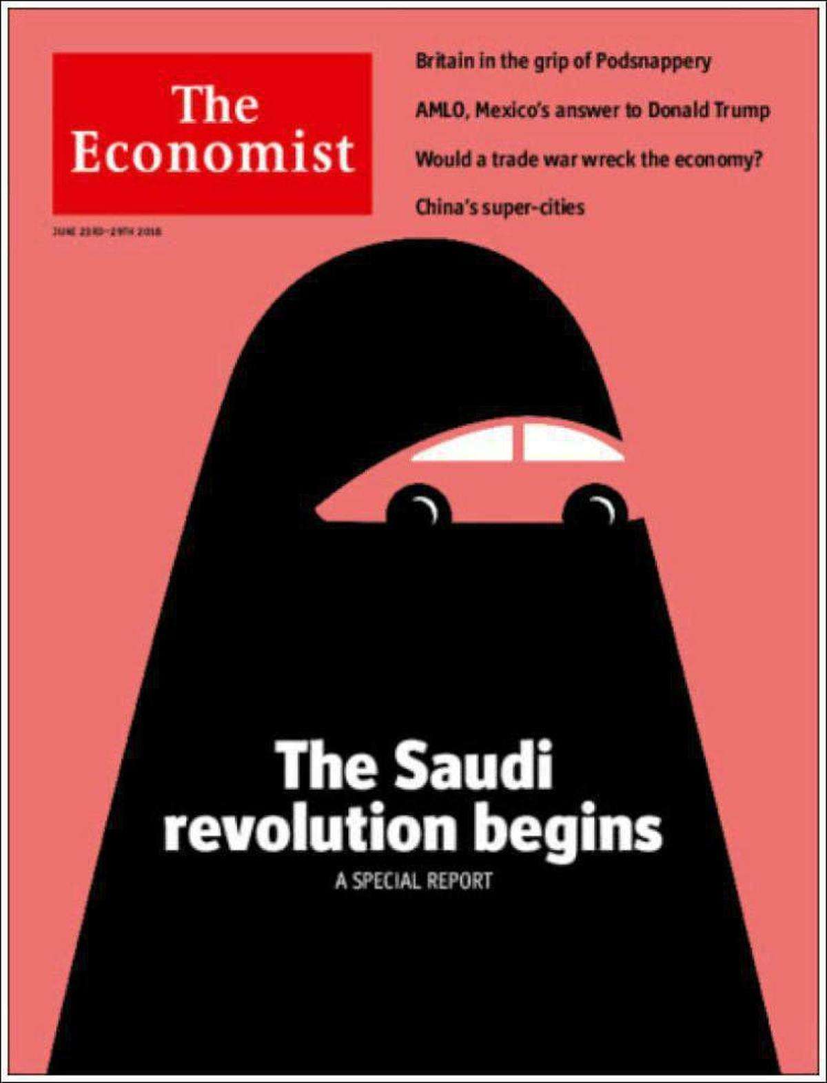 «آغاز انقلاب سعودی»عنوان روی جلد تازه ترین شماره اکونومیست