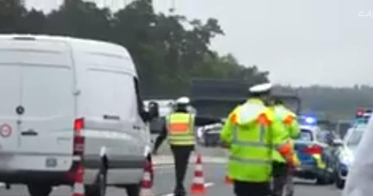 ویدیو: آموزش پلیس آلمان به راننده های گوشی به دست