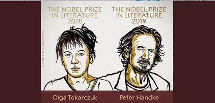 جایزه نوبل ادبیات ۲۰۱۸ و ۲۰۱۹ به نویسندگان لهستانی و اتریشی رسید