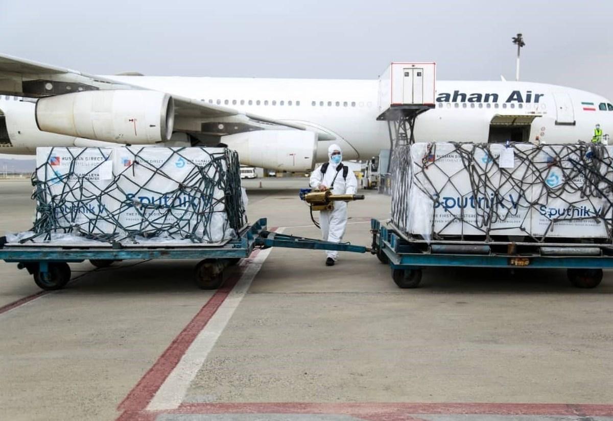 بزرگترین محموله واکسن به راه تهران ارسال شد