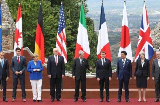 """چهل و پنجمین اجلاس سران کشورهای """"جی ـ ۷ """"در سایه اختلافات برگزار میشود"""