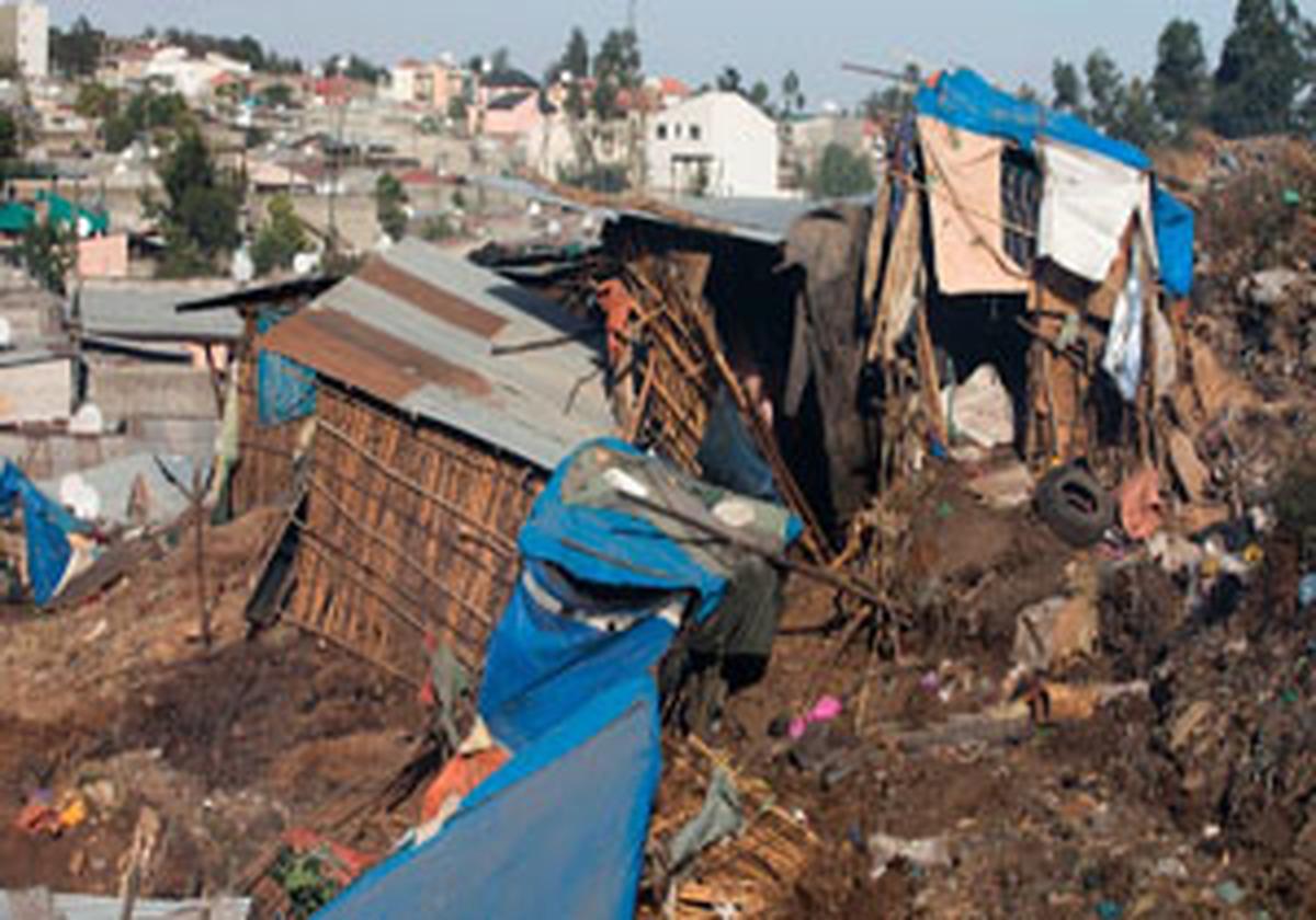 48 کشته در حادثه رانش زمین در اتیوپی