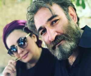 عاشقانه هدایت هاشمی و همسر جوانش با 20 سال اختلاف سنی + عکس