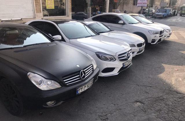 خودروهای لوکس  |   لیست قیمت اجاره خودرو بدون راننده در شهر تهران