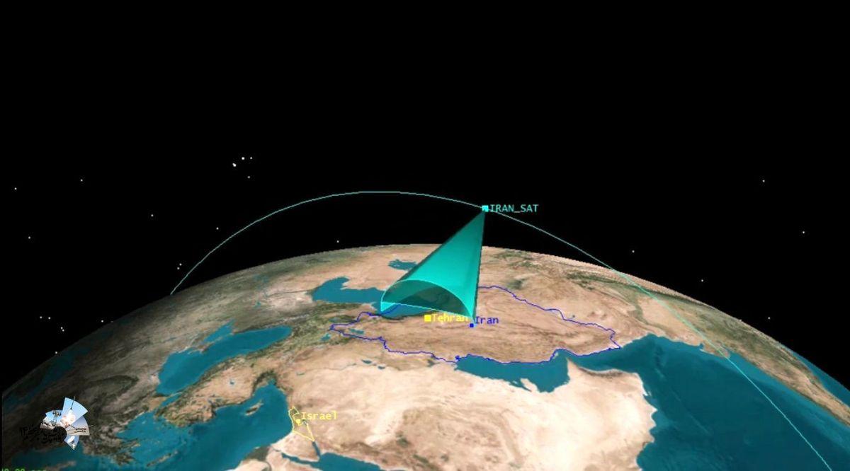 نخستین تصاویر تهیه شده توسط ماهواره نور