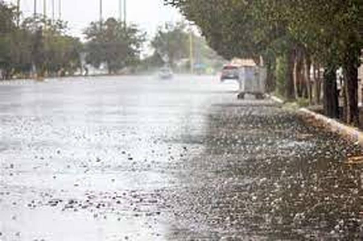 فعالیت سامانه بارشی ادامه دارد