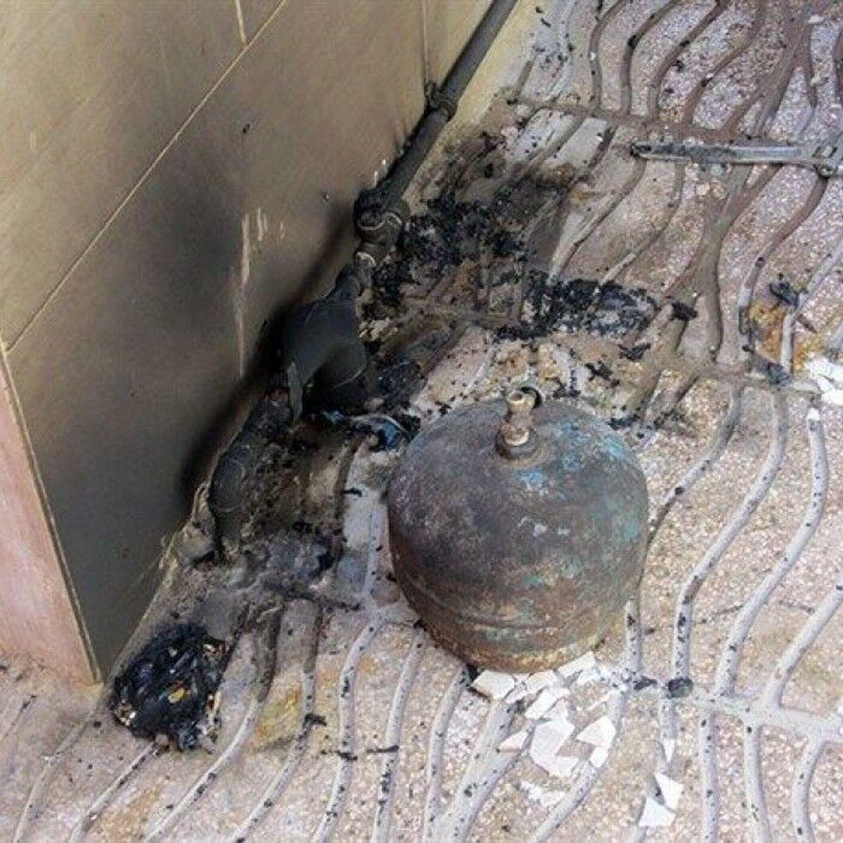 کپسول گاز در نارمک تهران منفجرشد