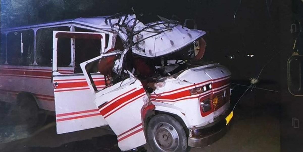 سقوط مینیبوس در کامیاران ۱۵ کشته و ۸ مصدوم برجای گذاشت