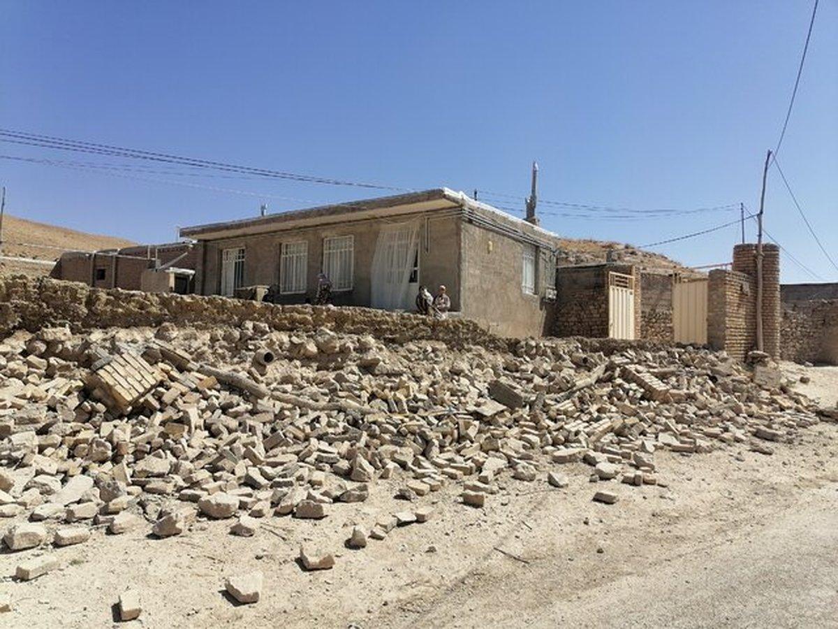 آسیب ۴۰ درصدی به برخی خانههای کاهگلی بر اثر زلزله قوچان