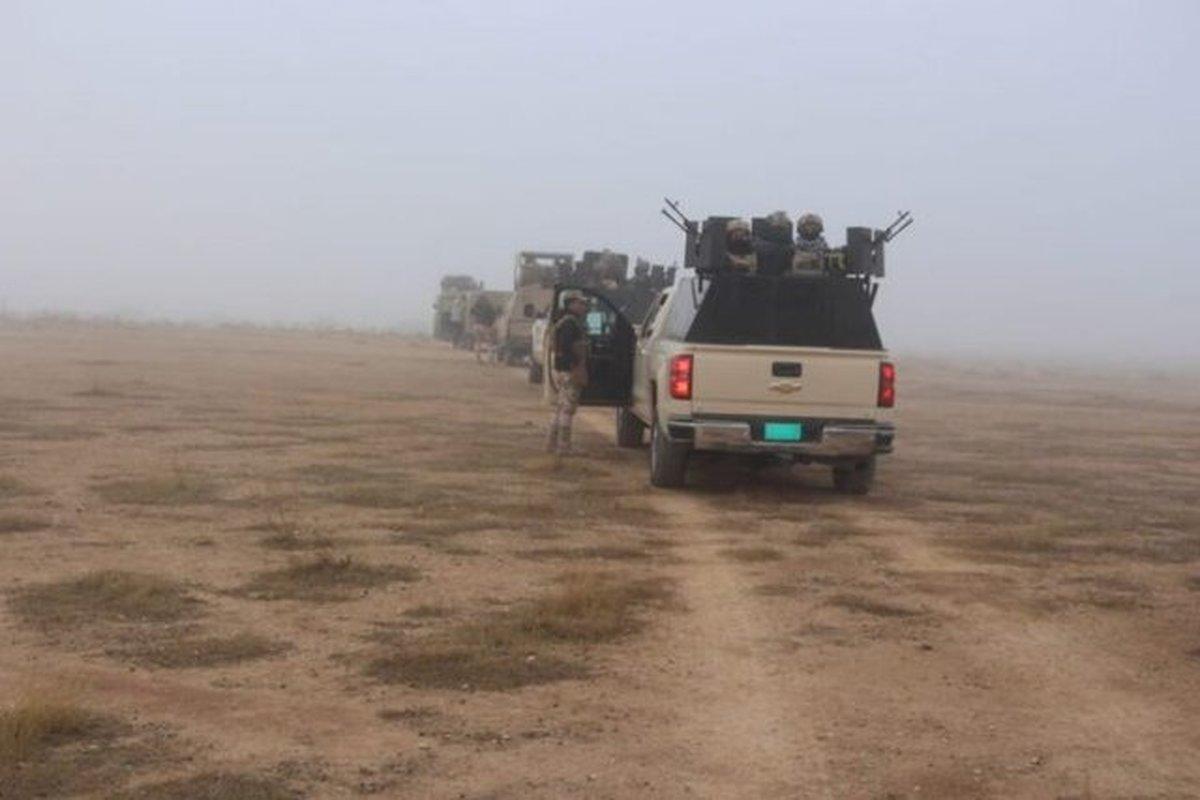 بازداشت داعشی برجسته در نزدیکی نوار مرزی عراق با سوریه
