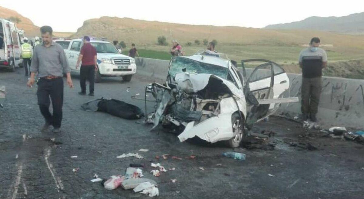تصادف مرگبار در خراسان شمالی