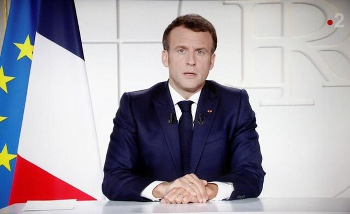 دستور فوری ماکرون برای قرنطینه سراسری یک ماهه در فرانسه