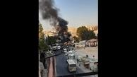 انفجار یک دستگاه اتوبوس حامل نیروهای ارتش سوریه