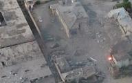 حمله طالبان با خودروی بمبگذاری شده به ساختمان فرماندهی پلیس  افغانستان