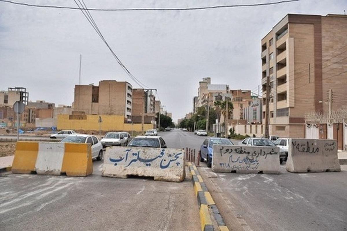 شیوع کرونا دراهواز |  شهر اهواز در روز سیزده بدر (+عکس)