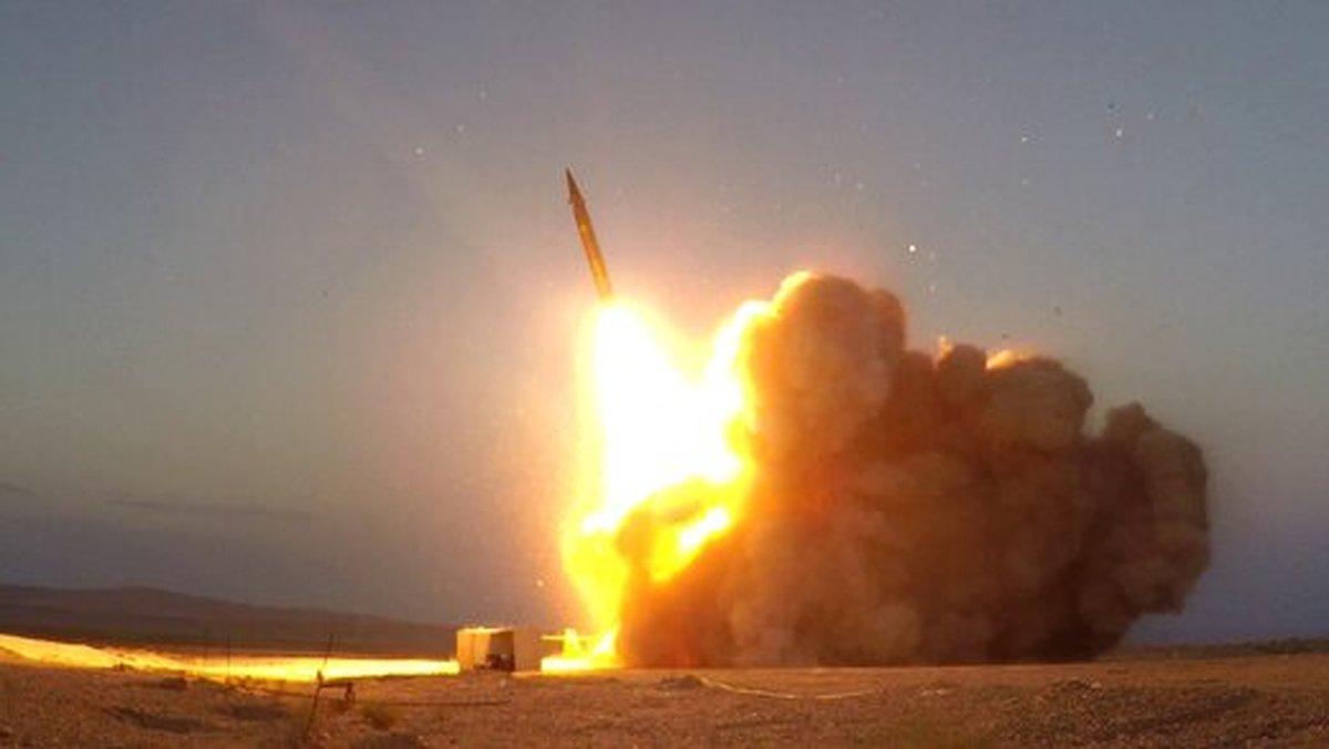 رکوردشکنی موشکی ایران برای دومین بار/در عملیات علیه دشمن موشک حاج قاسم برگ برنده ایران است +عکس