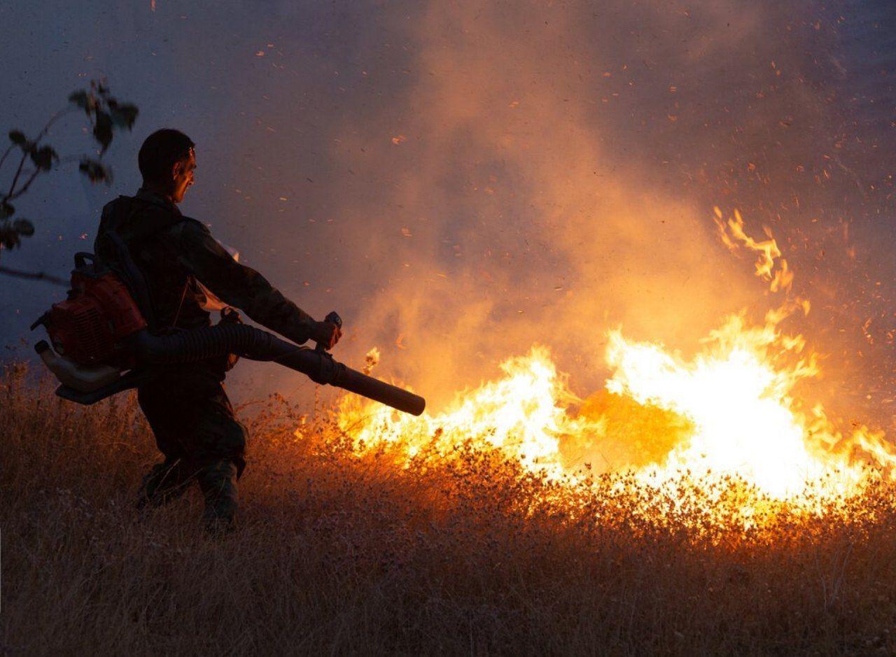 آتشسوزی در جنگلهای ارسباران ادامه دارد