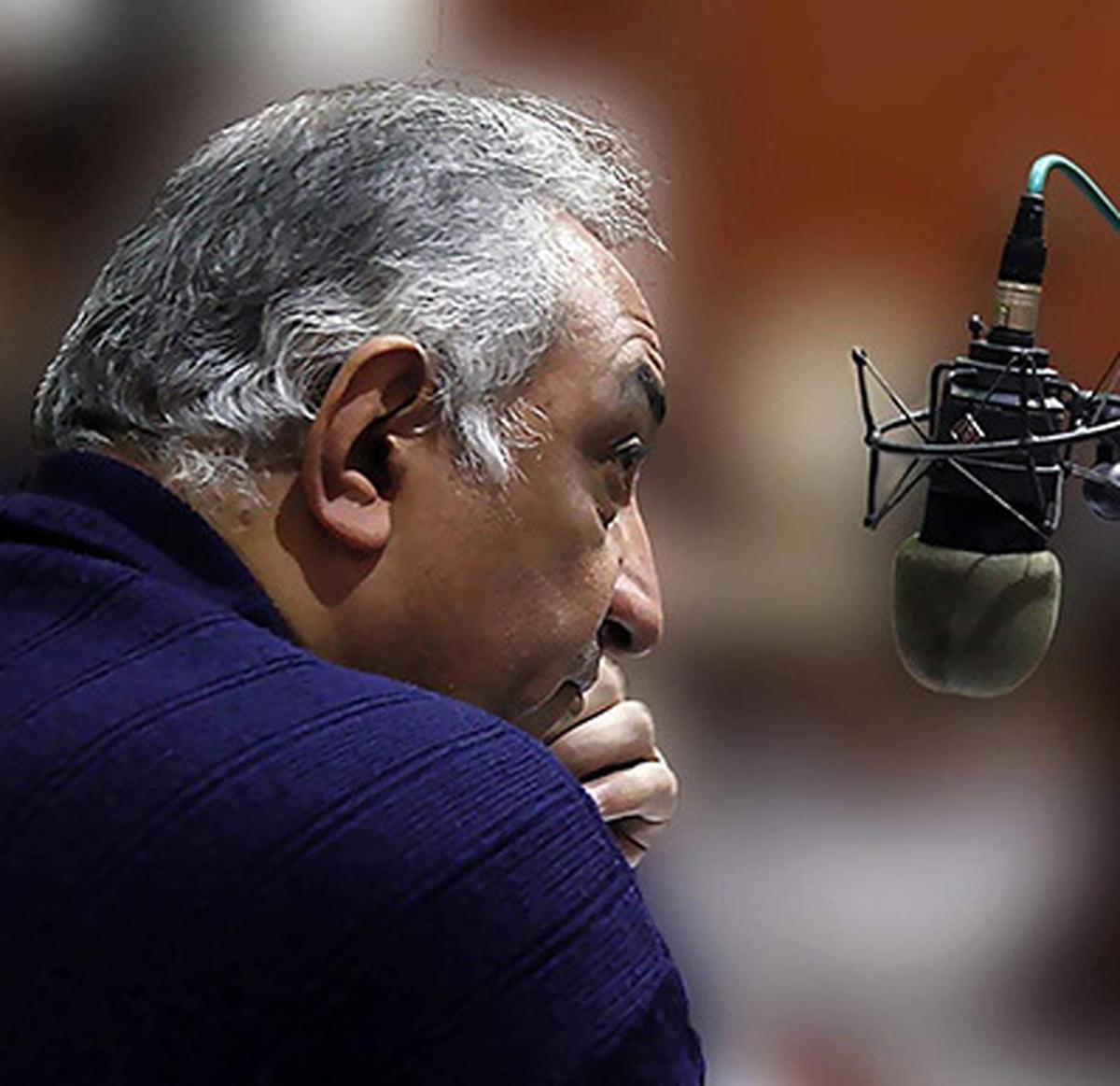 خاموشی صدای هنرمندِ رادیو نمایش| احمد گنجی گوینده رادیو نمایش درگذشت