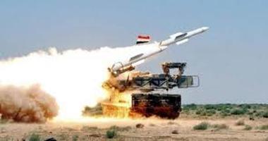 مقابله پدافند ارتش سوریه با حمله موشکی صهیونیستها