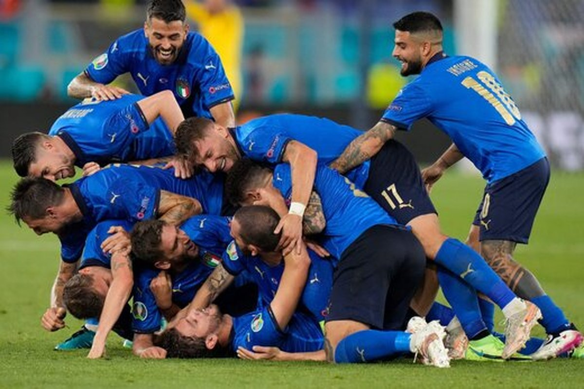 رکورد تاریخی ایتالیا در یورو ۲۰۲۰