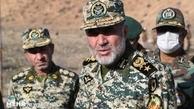 فرمانده نیروی زمینی ارتش  |  خطری مرزهای شمالغرب کشور را تهدید نمیکند.