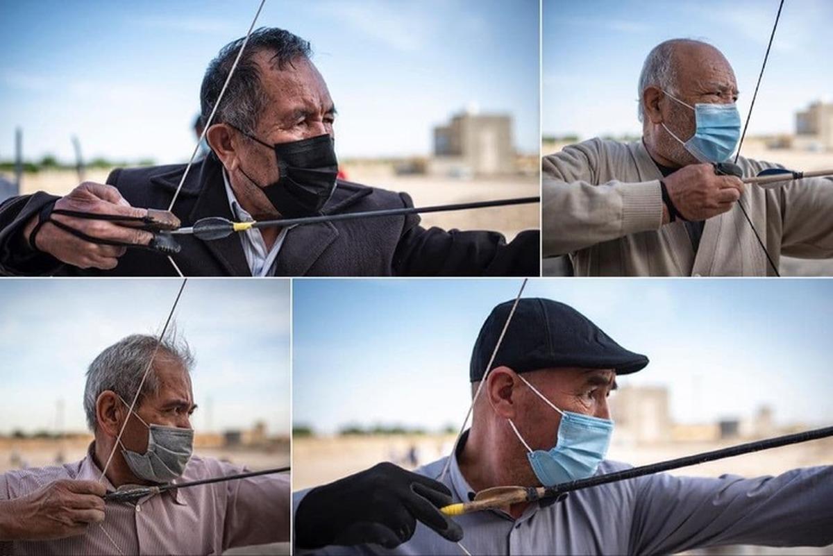 تیروکمان، سرگرمی اهالی گلشهر مشهد