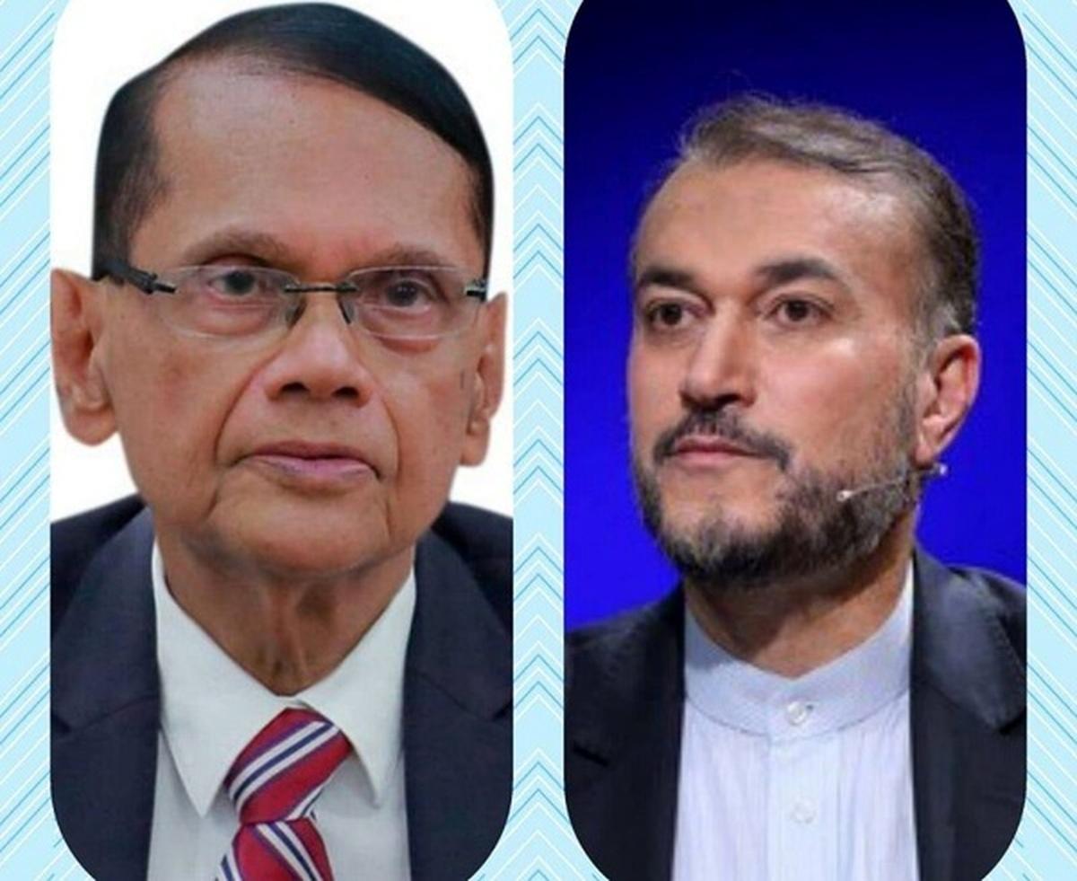 پیام تبریک وزیر امور خارجه سریلانکا به امیرعبداللهیان