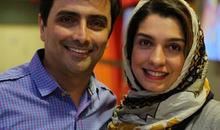 بازیگر پرحاشیه این روزها در کنار الیکا عبدالرزاقی و همسرش +عکس