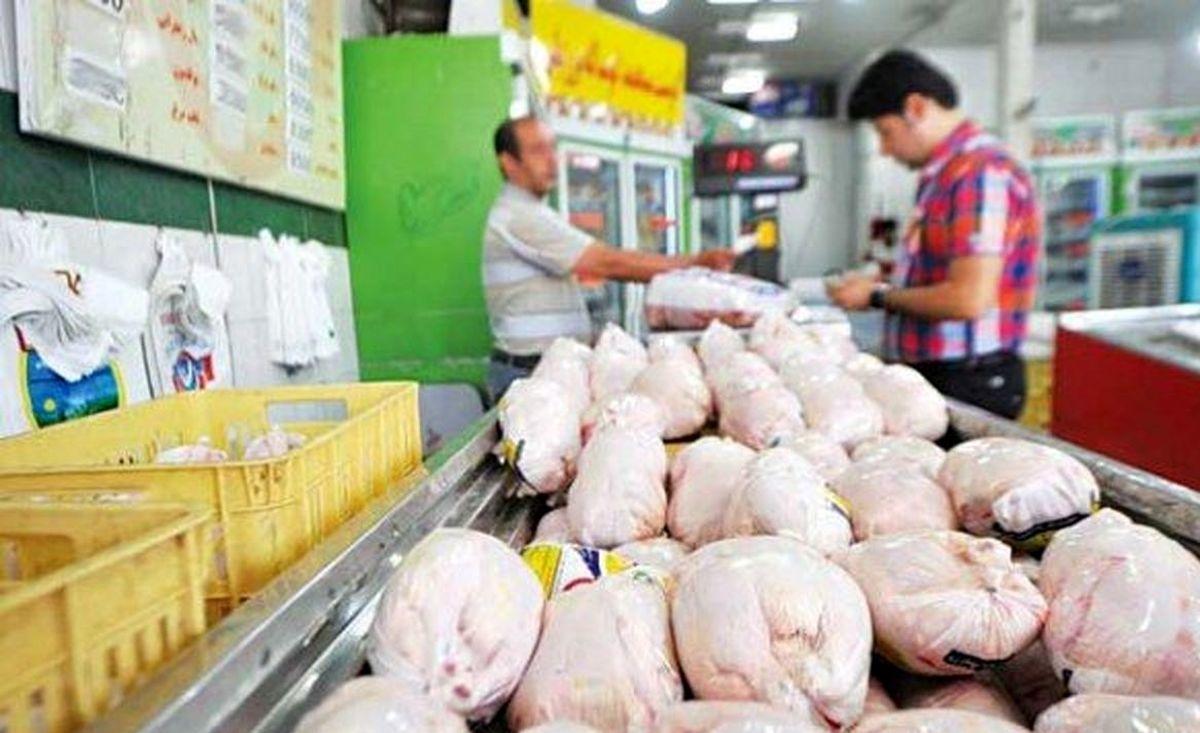افزایش ۸۳.۳  درصدی قیمت مرغ نسبت به بهمن پارسال