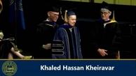 خالد حسن خیرآور'جوان نخبه ایرانی در آمریکا درگذشت