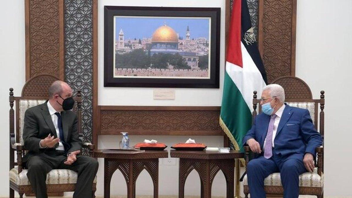 عباس بر مداخله آمریکا تاکید کرد تماس مرکل با نتانیاهو