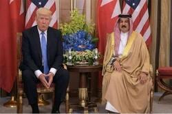 ترامپ | پادشاه بحرین ازترامپ نشان لیاقت گرفت
