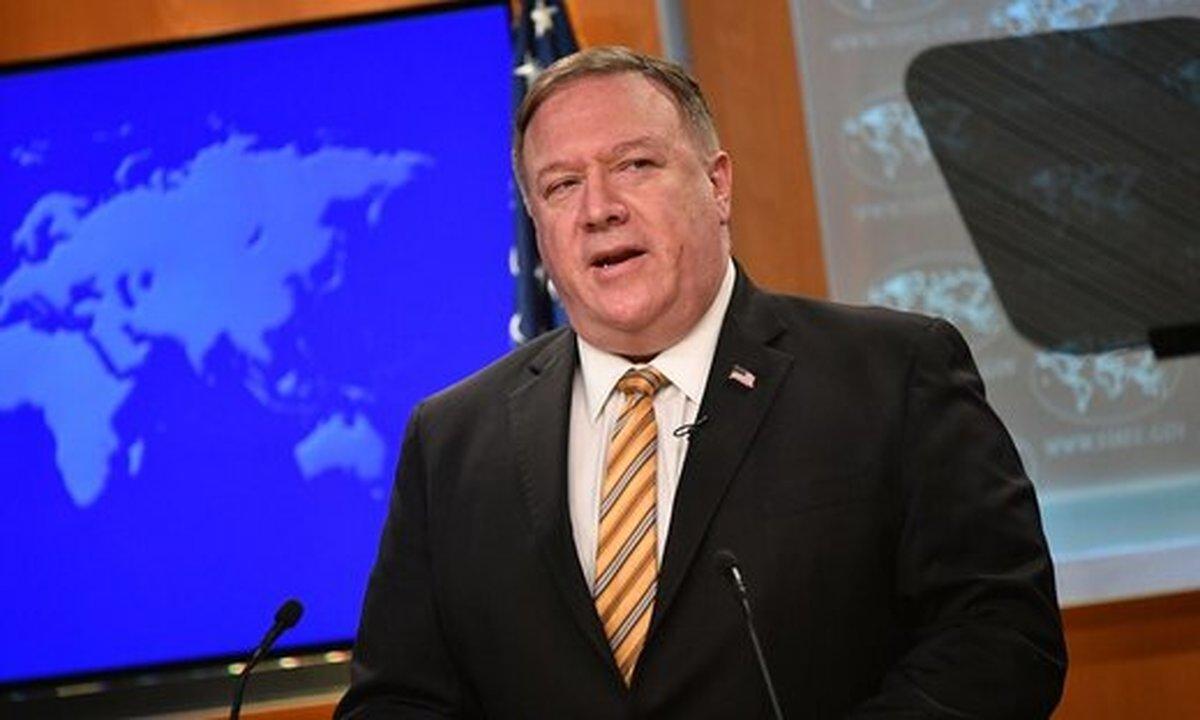 پمپئو  |  فشار حداکثری علیه ایران همچنان موثر است!