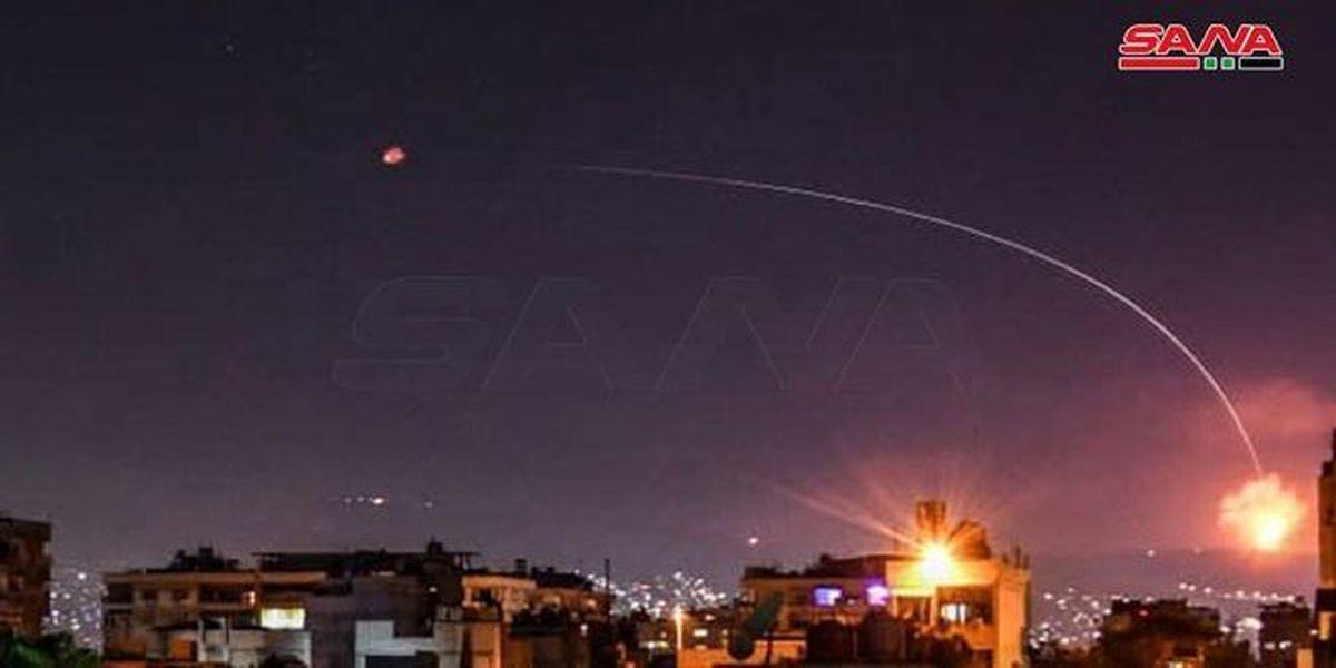 سوریه: حمله موشکی اسرائیل به دمشق را دفع کردیم