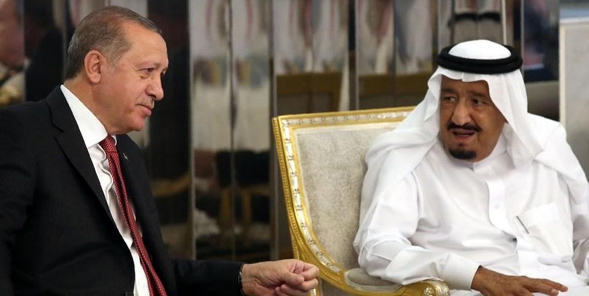 گفتوگوی تلفنی اردوغان و پادشاه سعودی پس از یک سال و نیم