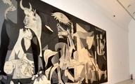 سازمان ملل | خروج پرده تابلوی مشهور پیکاسو از سازمان ملل