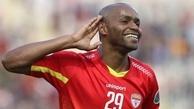 """""""شیمبا"""" در یک قدمی عنوان بهترین گلزن خارجی تاریخ لیگ برتر"""