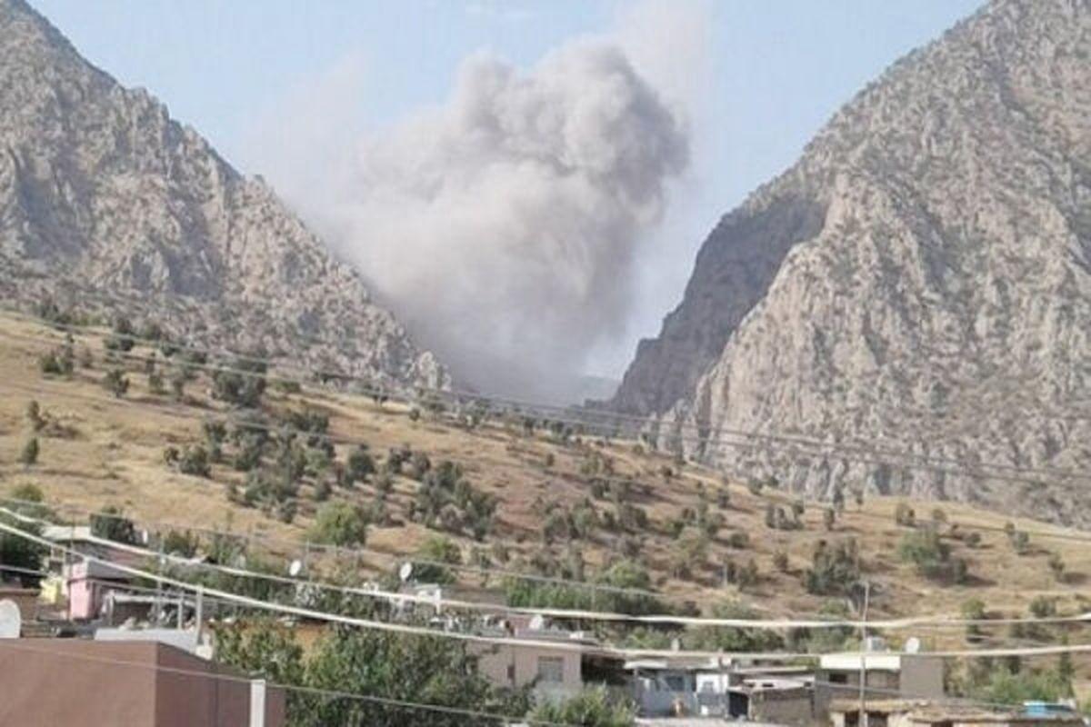 اقلیم کردستان عراق | حملات توپخانه ای ترکیه در اولین شب نوروز