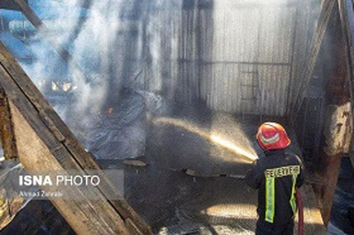 حادثه  |   در کارخانه صنعتی اردستان اصفهان انفجار مهیبی رخ داد