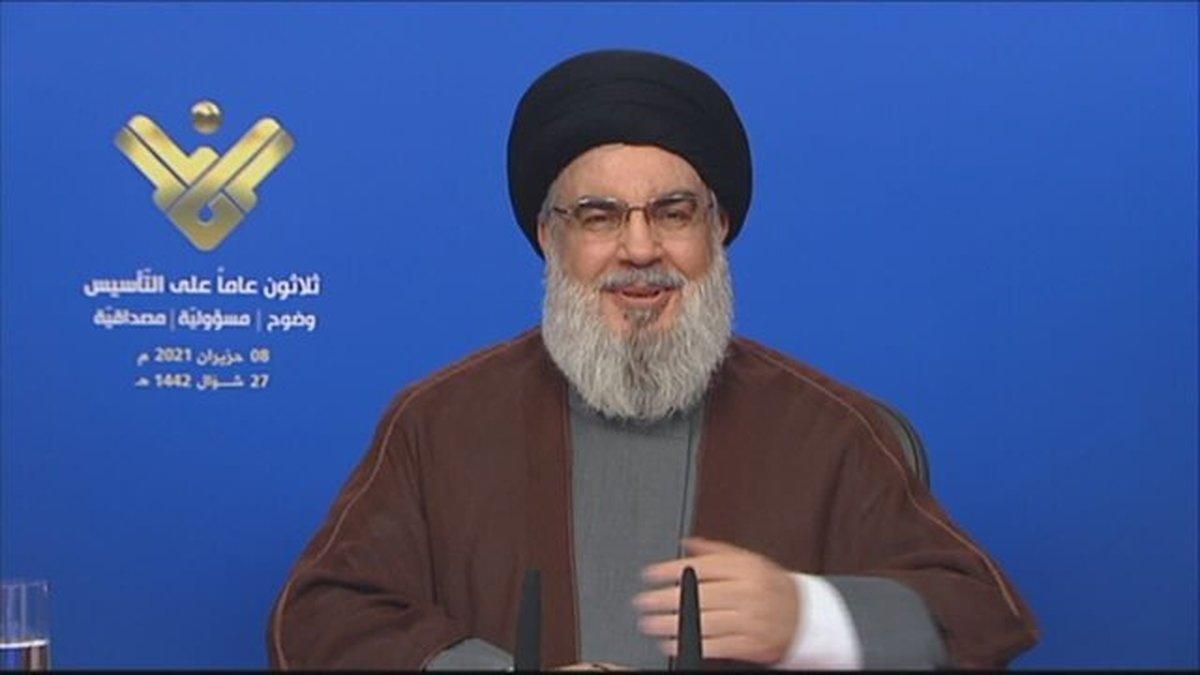 پیام سید حسن نصرالله در آستانه ورود تانکرهای حامل سوخت ایران به لبنان