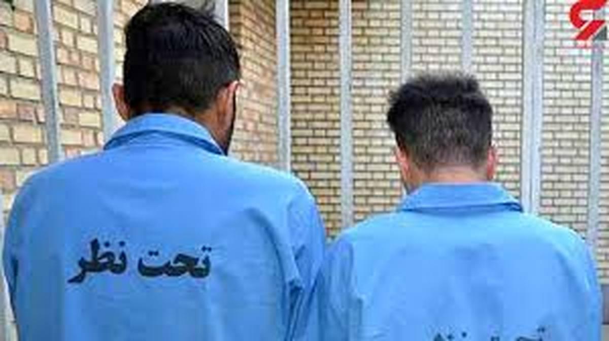 ۲ برادر گرداننده سرقتهای سریالی دستگیرشدند