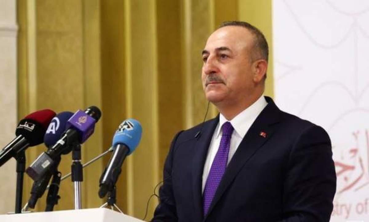وزیر خارجه ترکیه  |   میزبان نشست صلح افغانستان در ماه آوریل در استانبول خواهیم بود