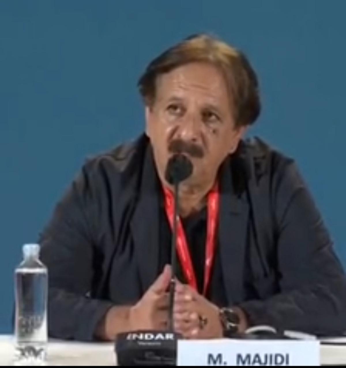 انتقاد مجید مجیدی در جشنواره ونیز از امریکا علیه ملت ایران + ویدئو