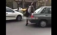 دختر جنجالی خیابان اندرزگو دستگیر شد